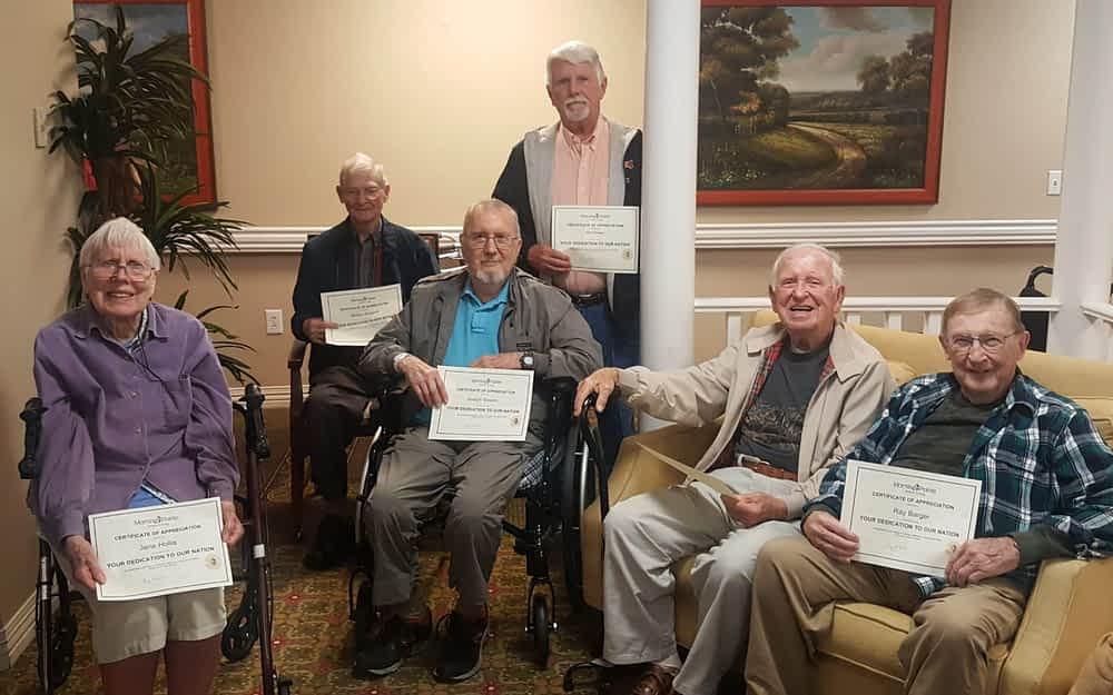 Morning Pointe Celebrates Its Veterans
