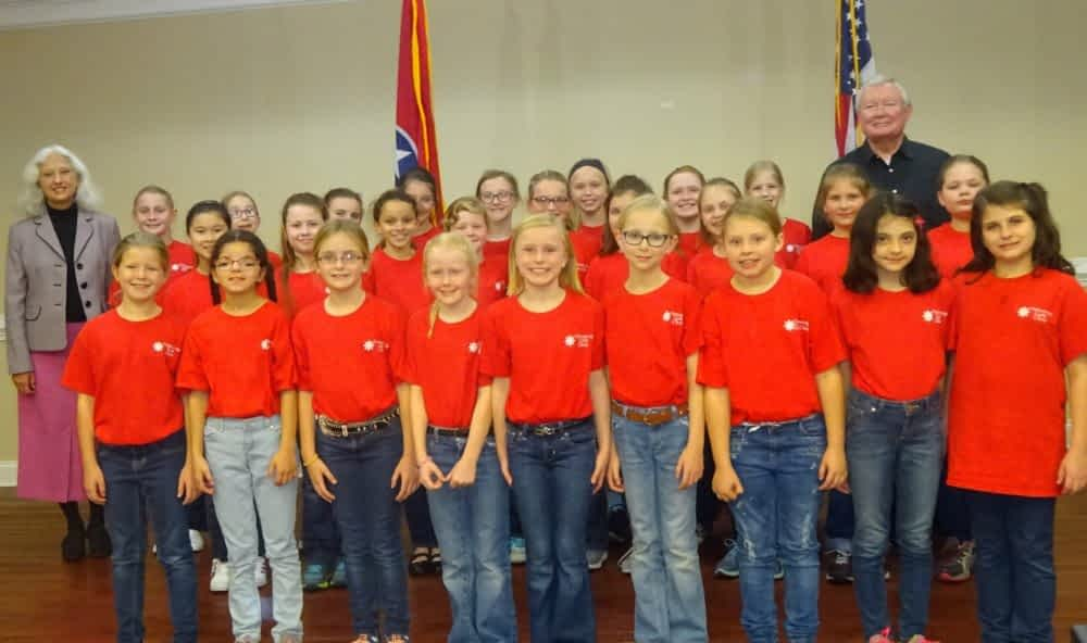 Chattanooga Girls Choir Take Stage at Morning Pointe