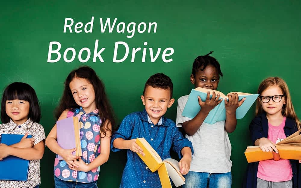 "Morning Pointe Hosts ""Red Wagon Book Drive"" April 1-30"