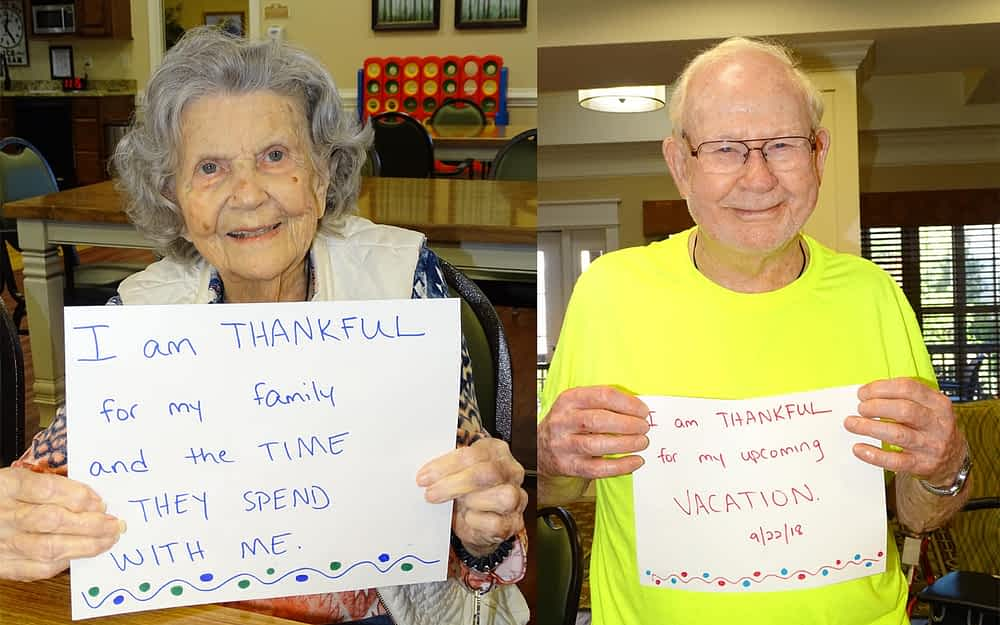 Morning Pointe Residents Create Time Capsule in Honor of National Assisted Living Week