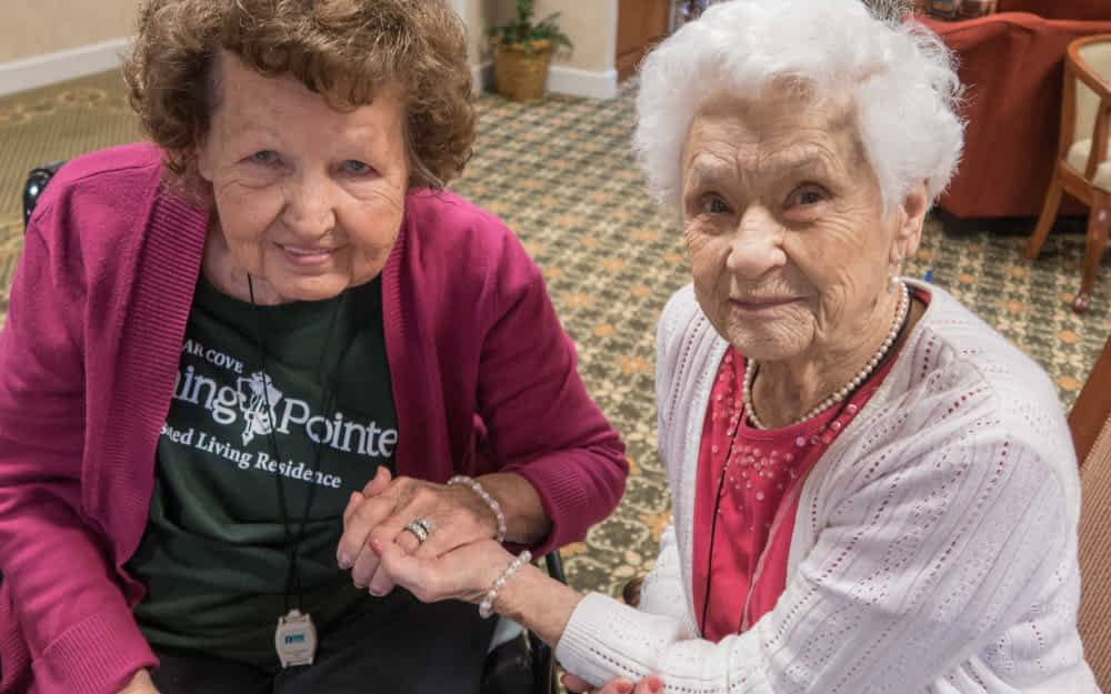Living at Morning Pointe Sparks Lasting Friendship Between 2 Residents