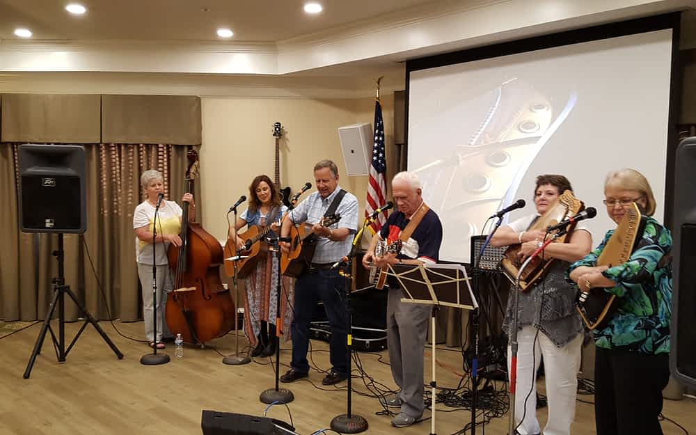 Fireside Pickers Come to Party at 'the Pointe'