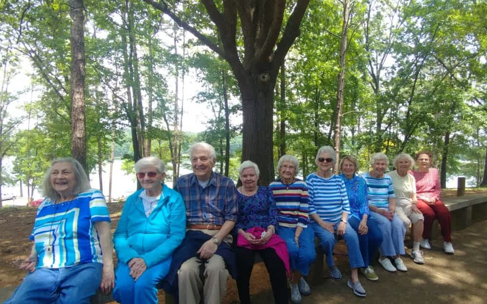 Morning Pointe Residents Enjoy Picnic at Chester Frost Park