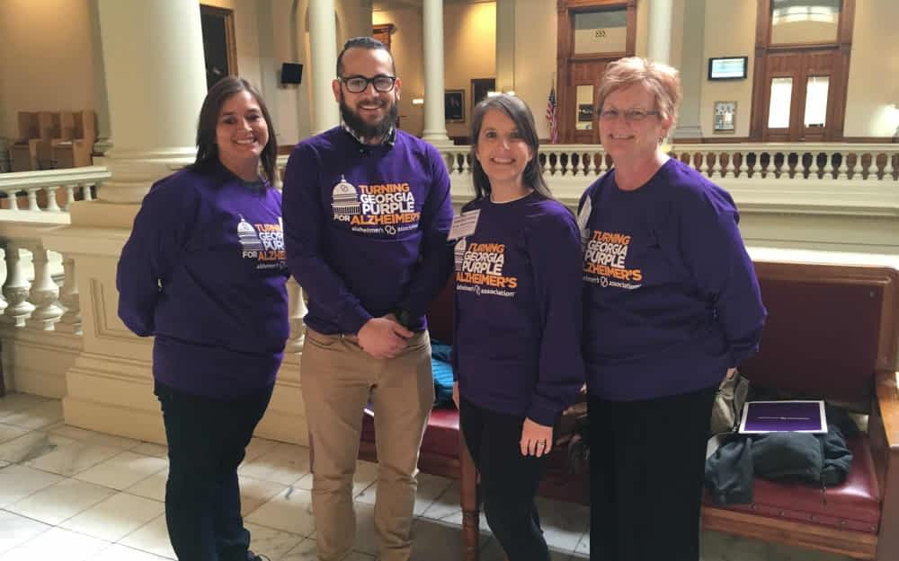Morning Pointe 'Makes Mark' at Alzheimer's Event at State Capitol