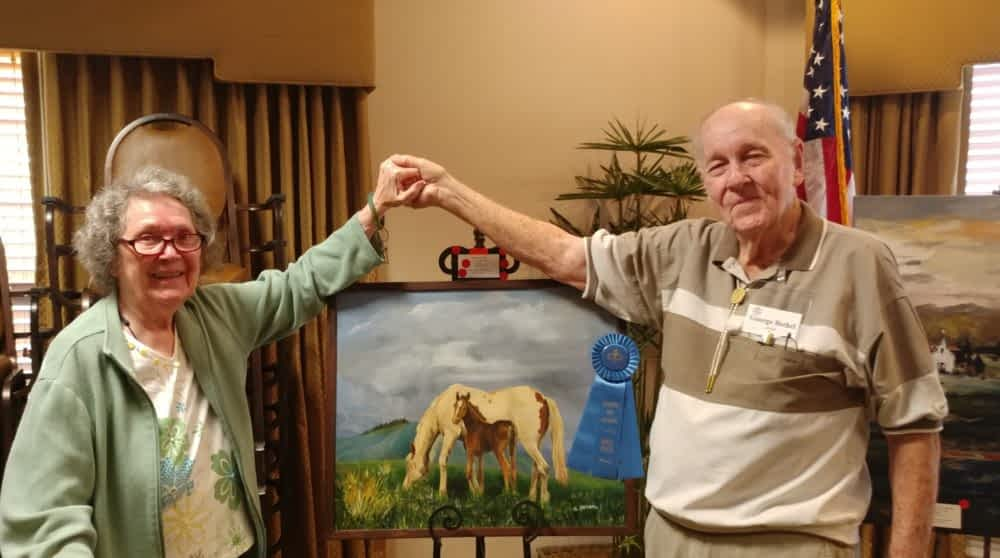 Morning Pointe Partners with Regional Art Alliance to Display Local Artists' Work in Community
