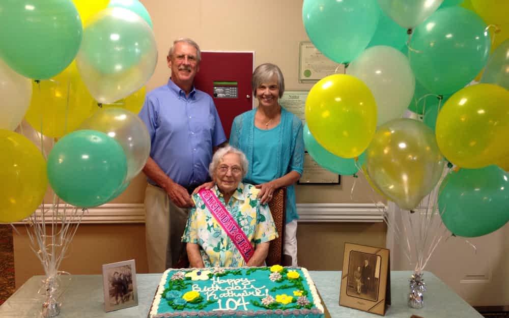 Morning Pointe Centenarian Celebrates a Century of Life