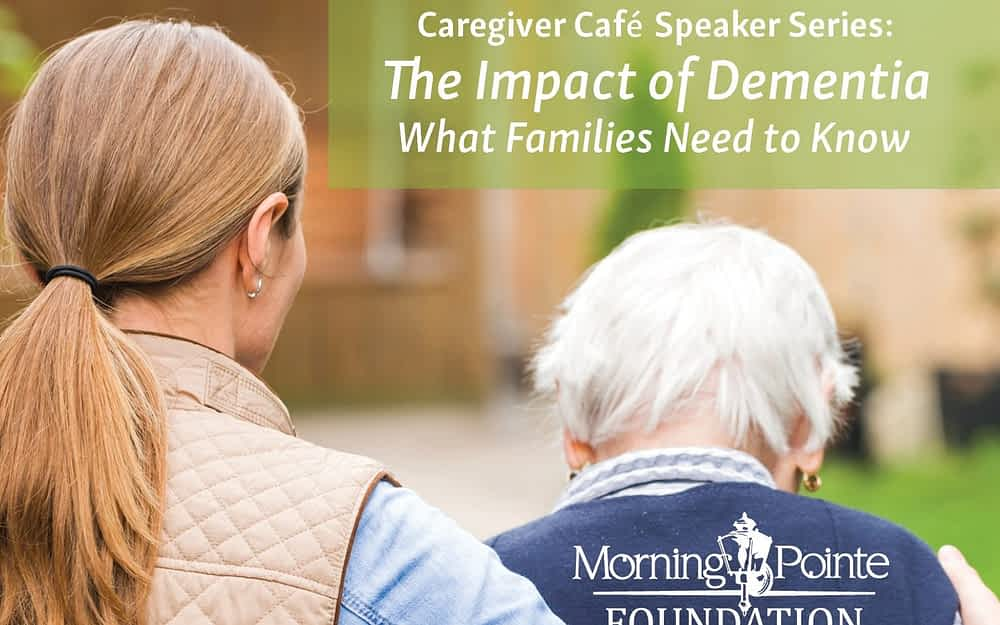 Impact of Dementia on Patients and Families May 8, 6:30 p.m. Featuring Guest Speaker Dr. Mohamed Khodeir