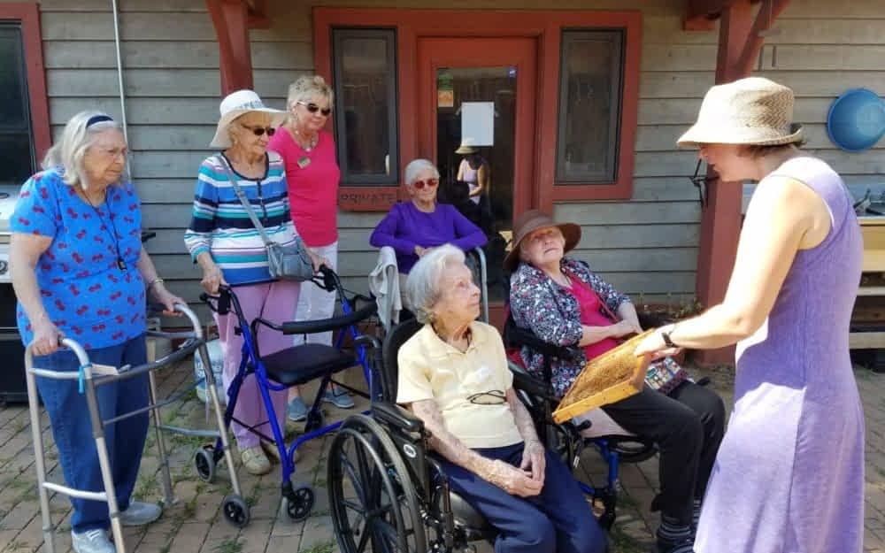 Morning Pointe Seniors Tour Crabtree Farms