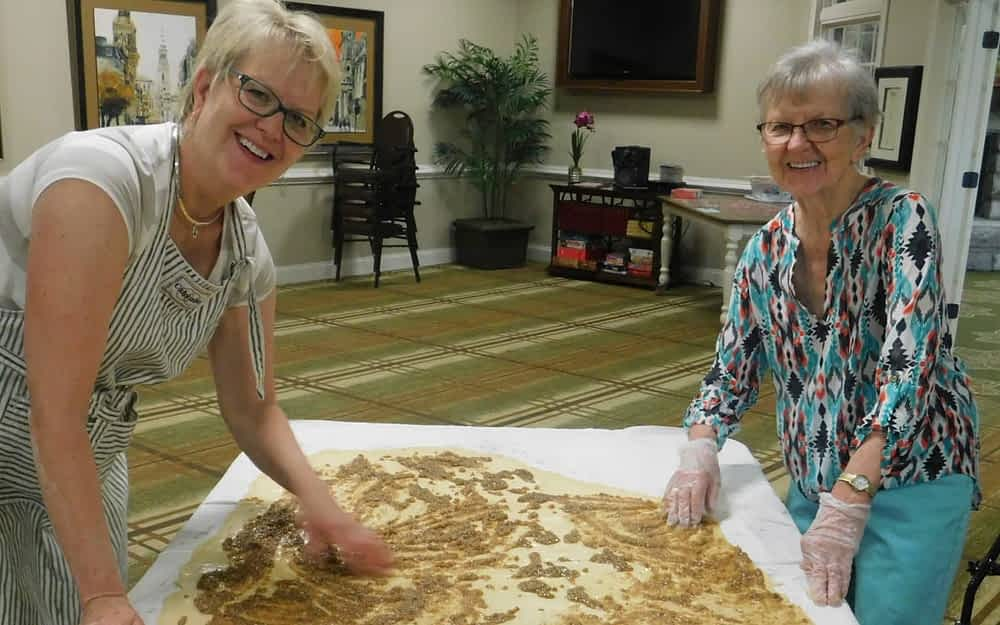 Mother, Daughter Preserve Taste of Tradition with Sweet Bread Recipe at Morning Pointe