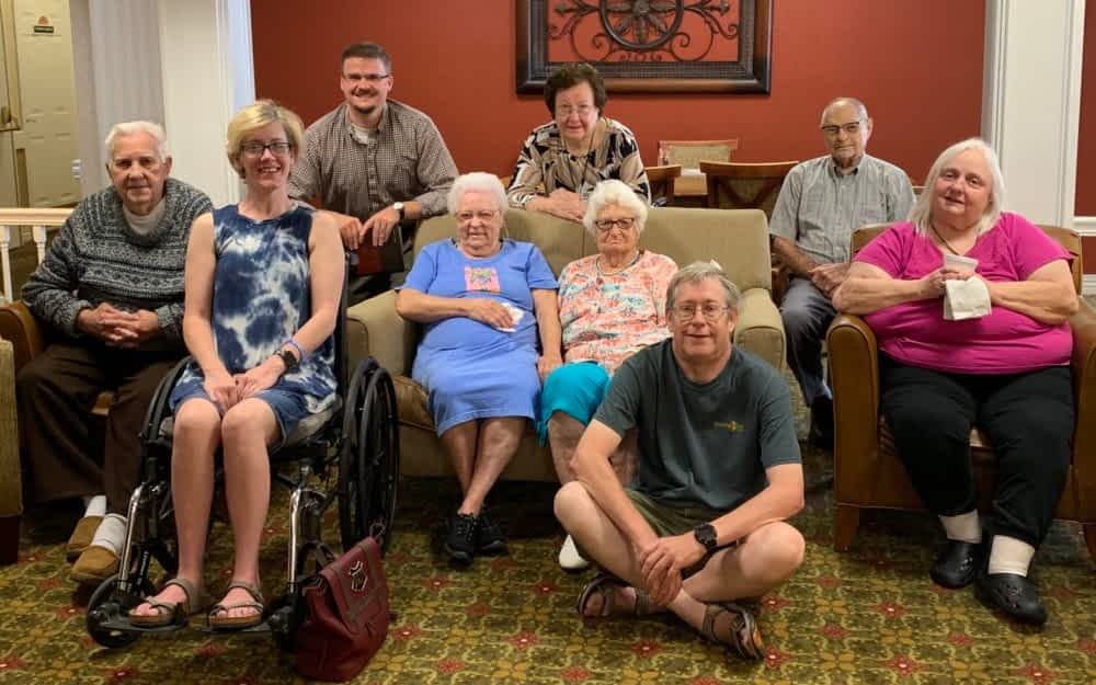 Local Pastor Leads Morning Pointe Residents in Weekly Bible Study