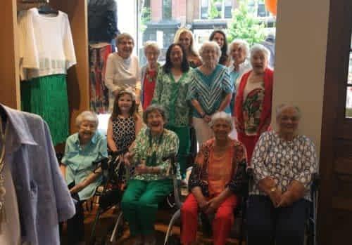 Morning Pointe Seniors Model for Chico's Fundraiser