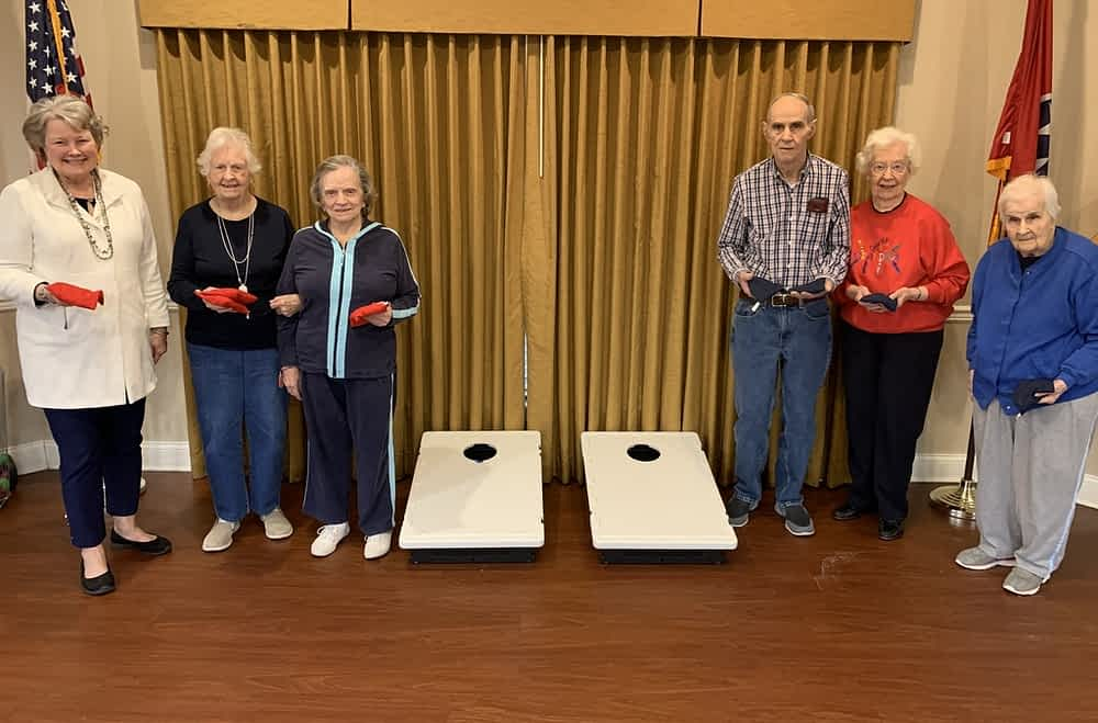 A New Season Begins for Morning Pointe Cornhole Team