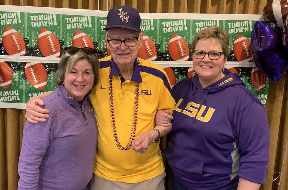 Morning Pointe Residents Join Family, Friends for National Championship Watch Party