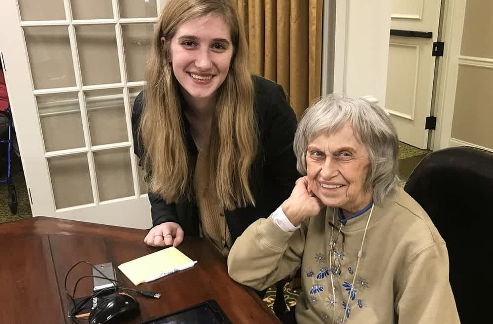 Through Generations Connected, Students Help Seniors Understand Smart Devices