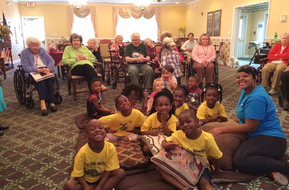 Morning Pointe, Kiddie World Day Care Celebrate 'Bugs Bunny Day'