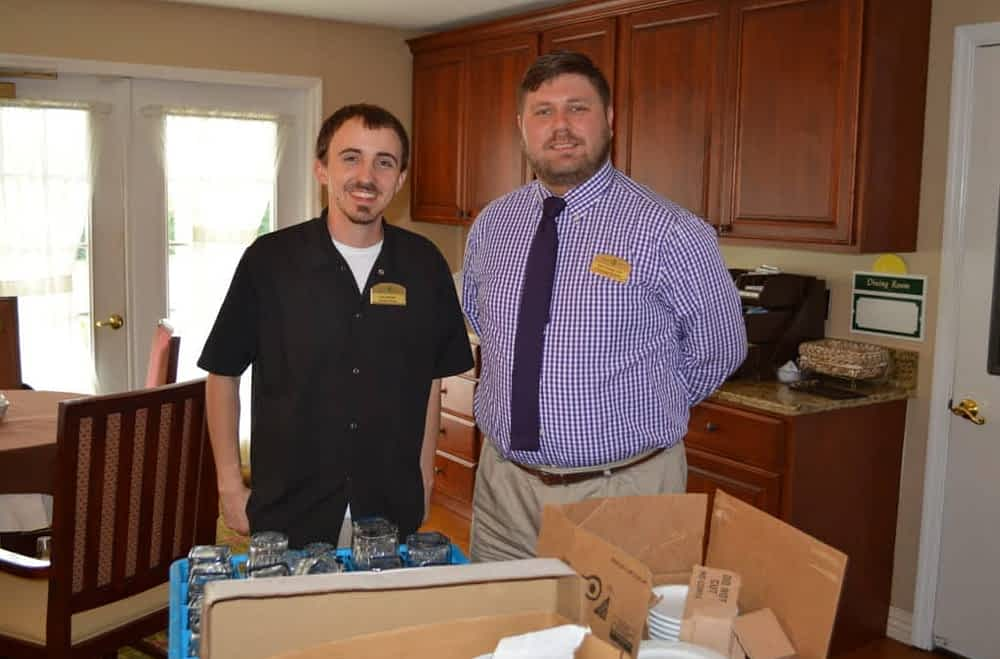 Morning Pointe Donates Dining Goods to Busby Church