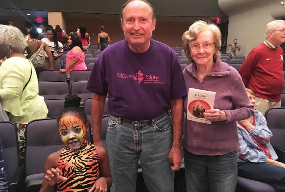"""Morning Pointe Lantern Residents Attend """"The Lion King Dance Spectacular"""""""