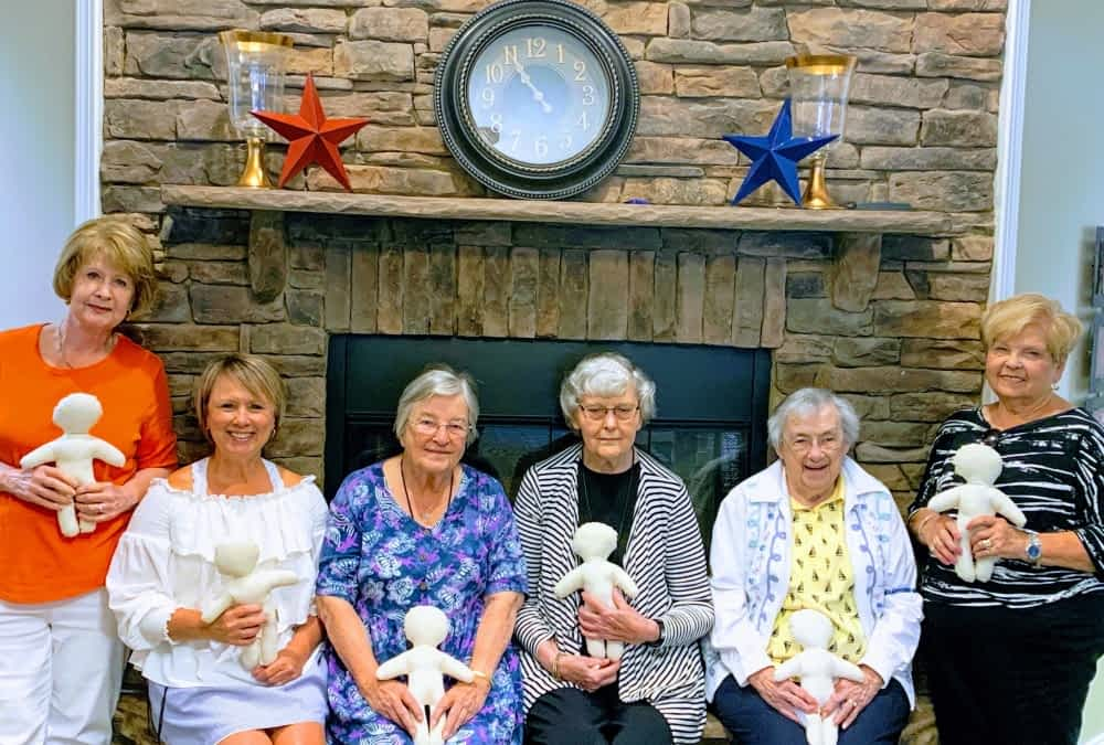 Morning Pointe Partners with Tellico Village Kiwanis Club to Make Comfort Dolls for Young Patients