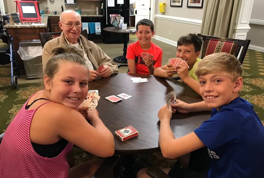Beargrass Christian Church Summer Campers Visit Morning Pointe