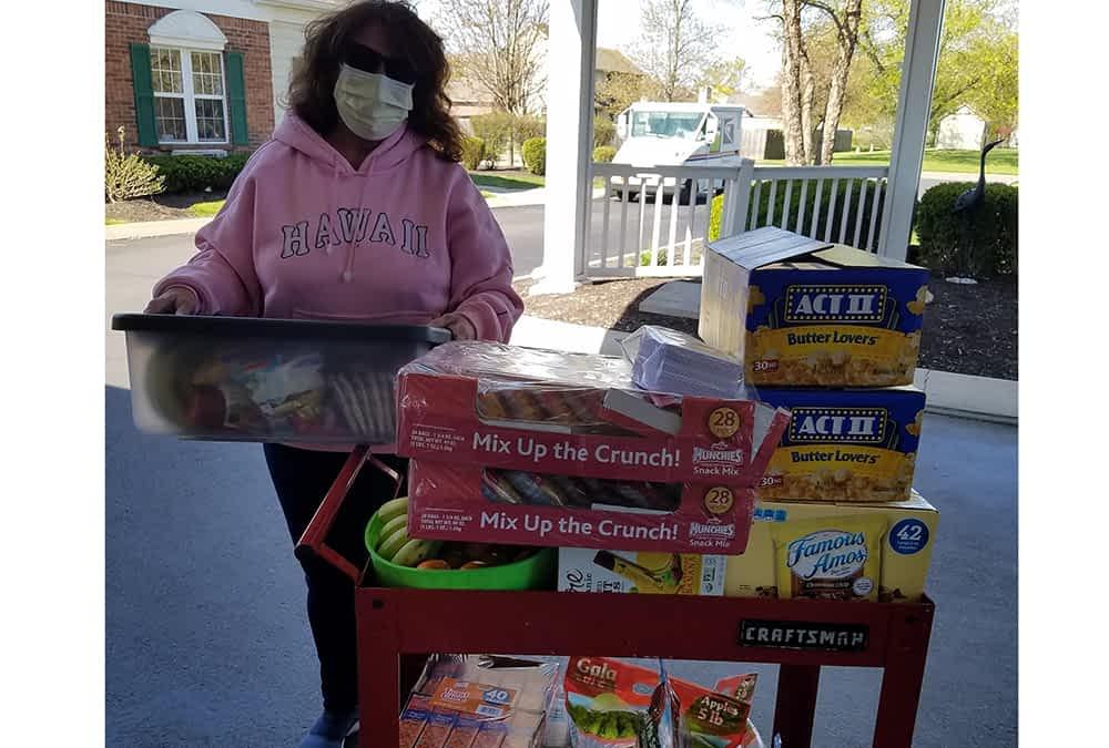 Resident Family Members Donate Snacks for Morning Pointe Associates