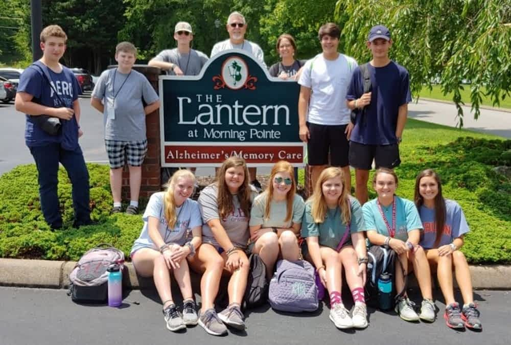 Student Life Mission Camp Volunteers Visit Morning Pointe