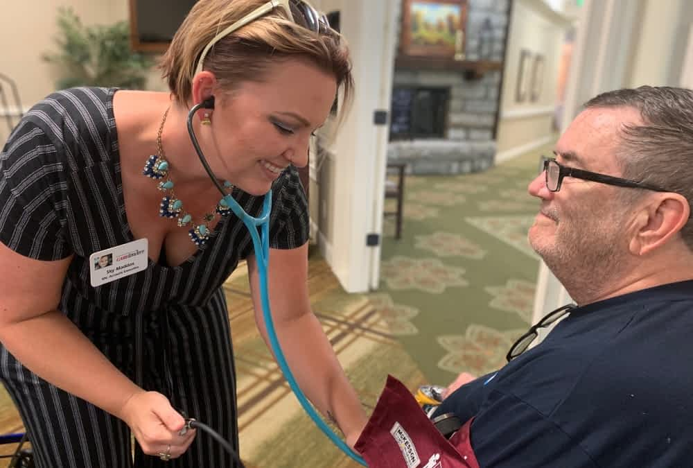 Morning Pointe Partners with Caretenders Home Health to Provide Free Vitals Checks