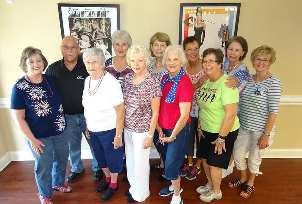 Soddy-Daisy Senior Center Entertains Morning Pointe Residents with Fancy Footwork