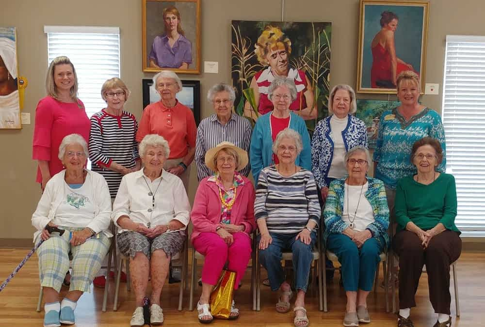 Morning Pointe Residents Square Off in Community Bingo Event