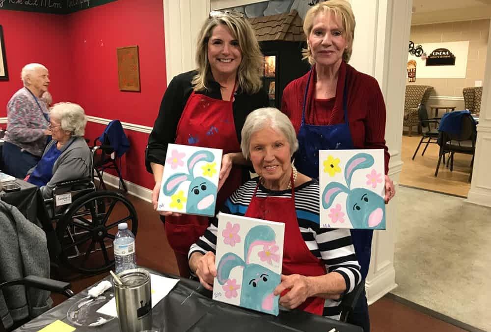 Morning Pointe Lantern Prepares for Annual Alzheimer's Art Auction