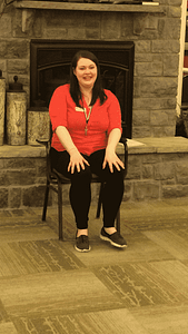 Residents at The Lantern at Morning Pointe Alzheimer's Center of Excellence, Lexington welcomed Lora Tackett with The Weston Group, who enjoys volunteering her time every week to help seniors stay active.