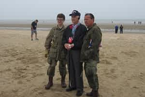 richmond fletcher williams d-day on beach