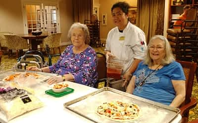 Morning Pointe Food Services Director Hosts Monthly Baking Club