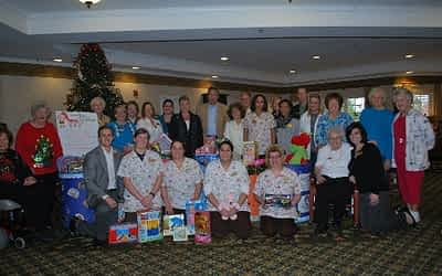 Morning Pointe Gives Big Toward Annual Toy Drive