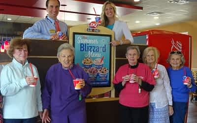Morning Pointe's Own 'Summer Blizzard' Treats Residents to DQ