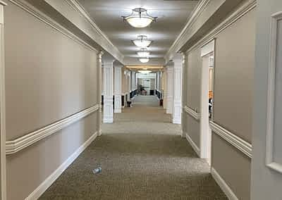 Morning Pointe Chattanooga Lantern - The Makings of a Beautiful Hallway – Carpet!