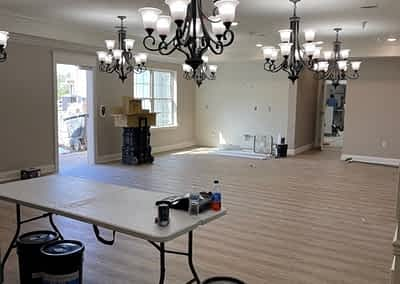 Morning Pointe Chattanooga Lantern - special flooring down