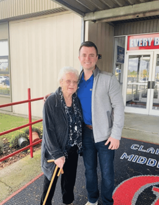 Moving to Morning Pointe Allows Woman to Vote for Grandson