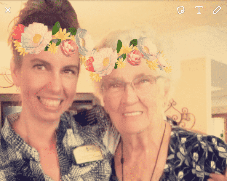 As part of the Life Enrichment Program, the assisted living community embraces technology, offering residents the opportunity to connect with their loved ones using social media and other innovative applications.