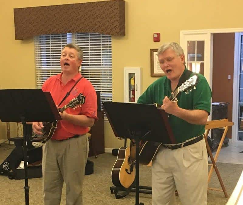 Dave and Dean Bring Irish Melodies to Morning Pointe