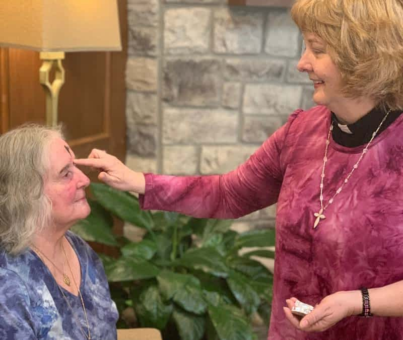 Local Pastor Partners with Morning Pointe to Observe Ash Wednesday