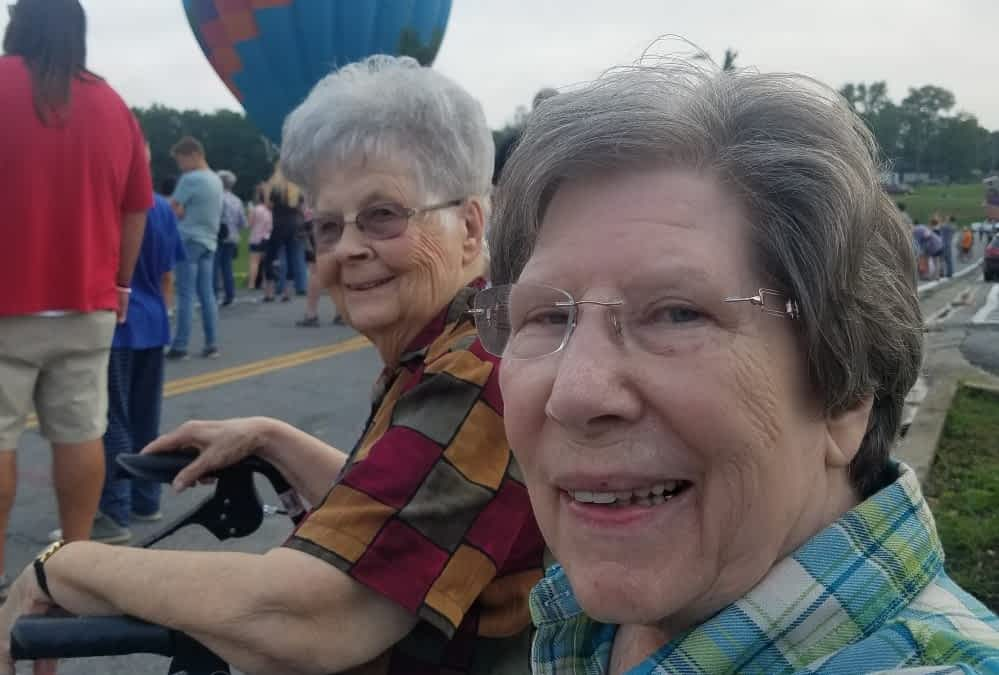 Morning Pointe Residents Attend Breakfast with Balloons Event