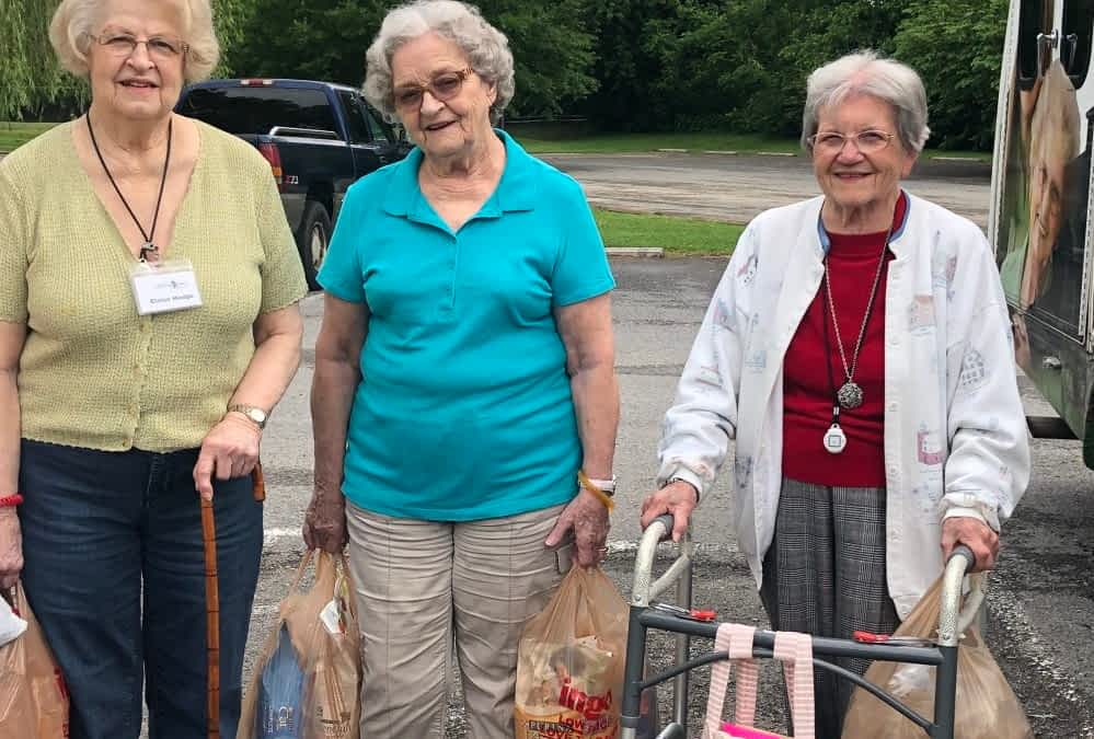 Morning Pointe Residents Donate Homemade Dog Toys, Treats to Local Shelter