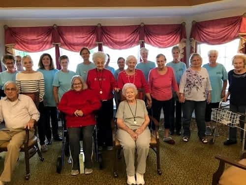 Morning Pointe Residents Celebrate National Friendship Day with Local Dance Group