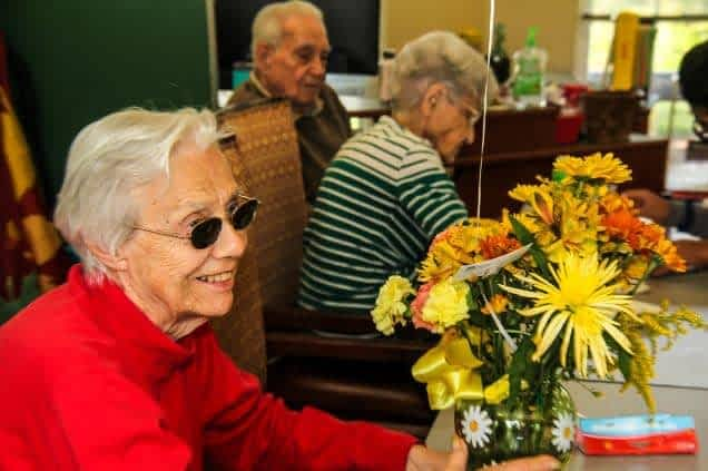 Morning Pointe of Greeneville Flowers Project in Full Bloom