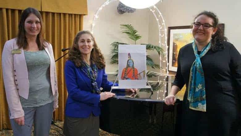 Dr. Cerel-Suhl Leads Guided Art Program at Morning Pointe