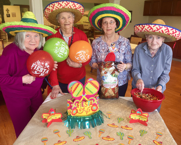 Morning Pointe Enjoys Food and Fun on Cinco de Mayo