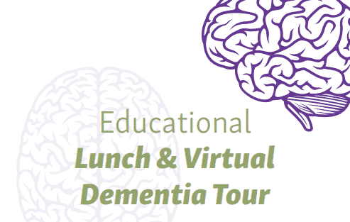 Educational Lunch and Virtual Dementia Tour