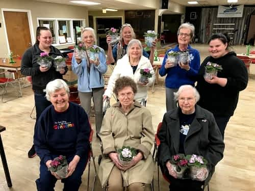 Morning Pointe Residents Celebrate Spring with Capital City Activity Center
