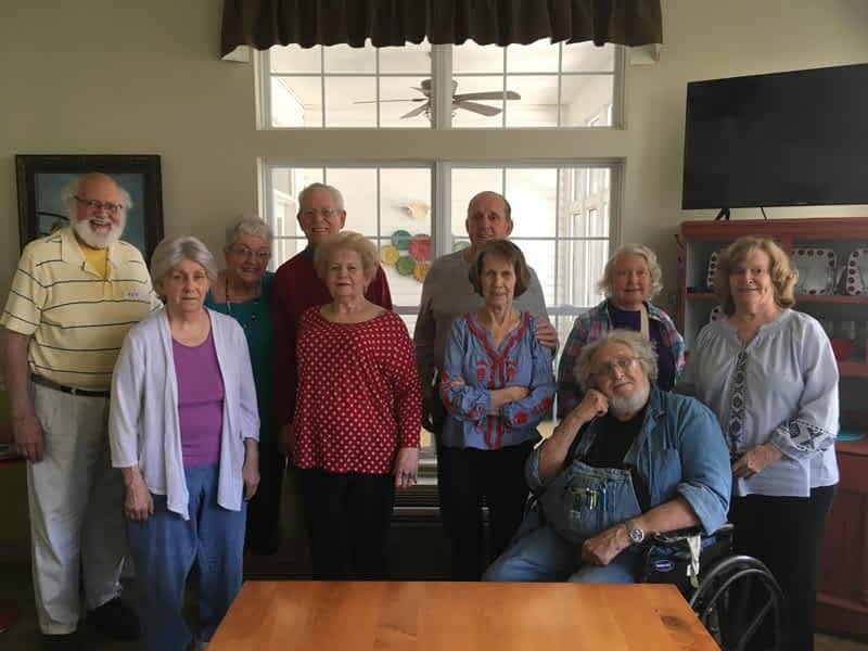 Local Storytellers Ignite Morning Pointe Residents' Imaginations