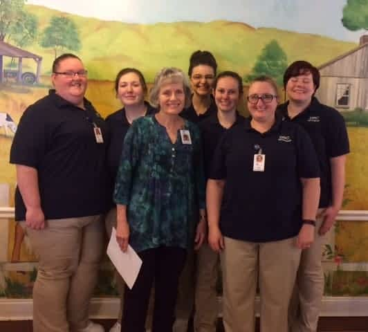Dalton State Nurses Gain Geriatric Experience at Morning Pointe